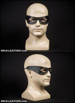 Mr. S Leather Ranger Mask Black