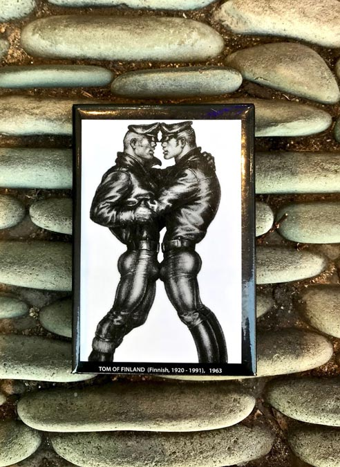 Tom of Finland Magnet Leather Duo