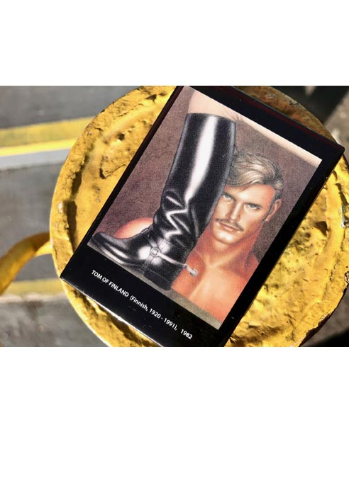 Tom of Finland Magnet Boot