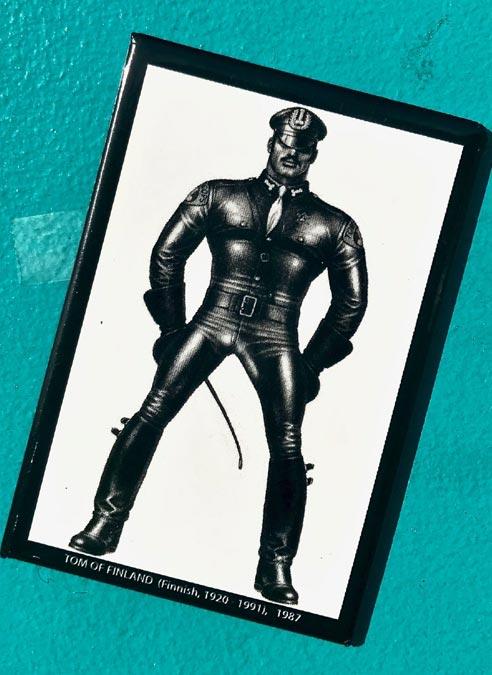 Tom of Finland Magnet Leatherman