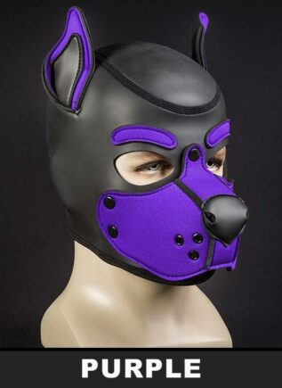Mr. S Neo K9 Hood Purple Small