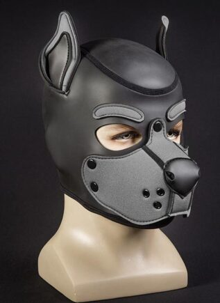 Mr. S Neo K9 Hood Grey Large