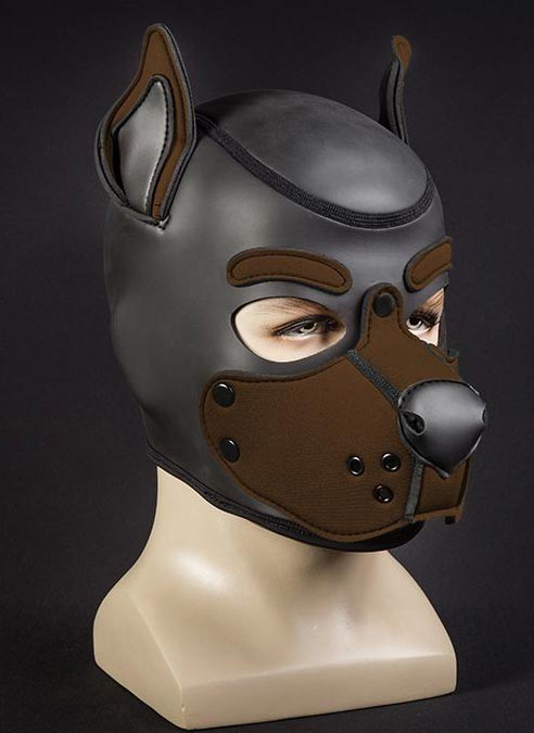 Mr. S Neo K9 Hood Brown Large