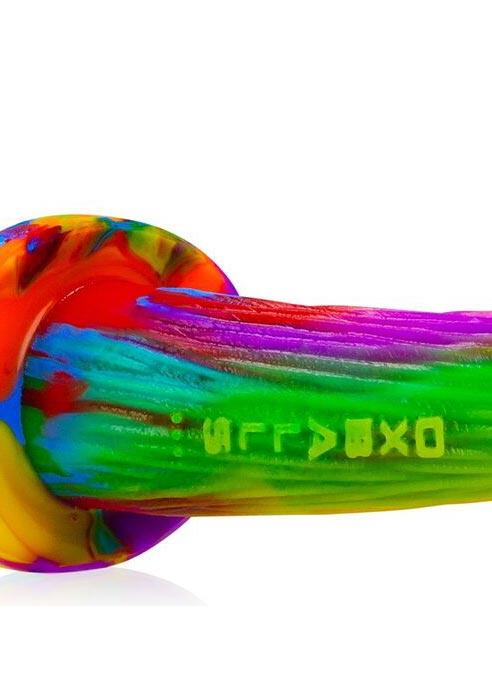 Oxballs Purebred Puppy Tail Silicone Tie-Dye Pug (S)