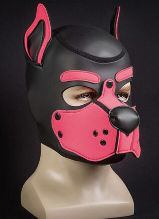Mr. S Neo K9 Hood Pink Small