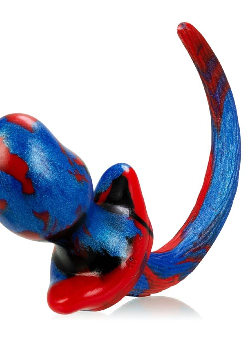 Oxballs Purebred Puppy Tail Silicone Leather Proud Pug (S)