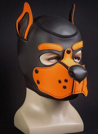 Mr. S Neo K9 Hood Orange Large