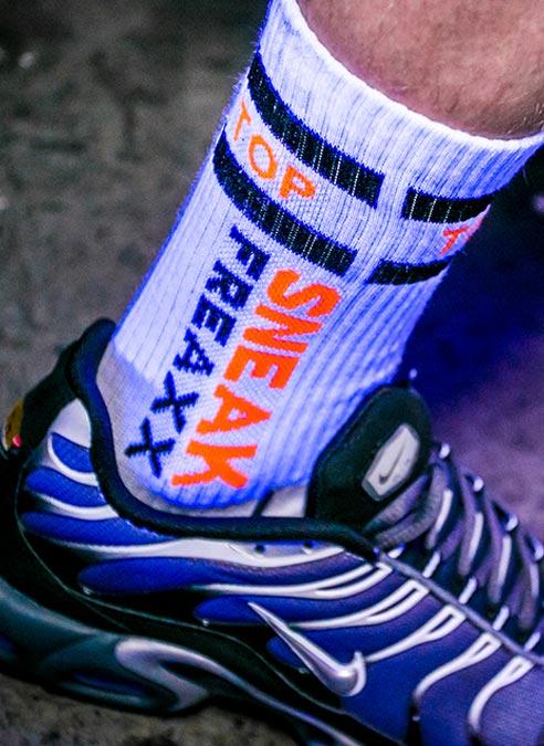 Sneakfreaxx Socks Top White One Size
