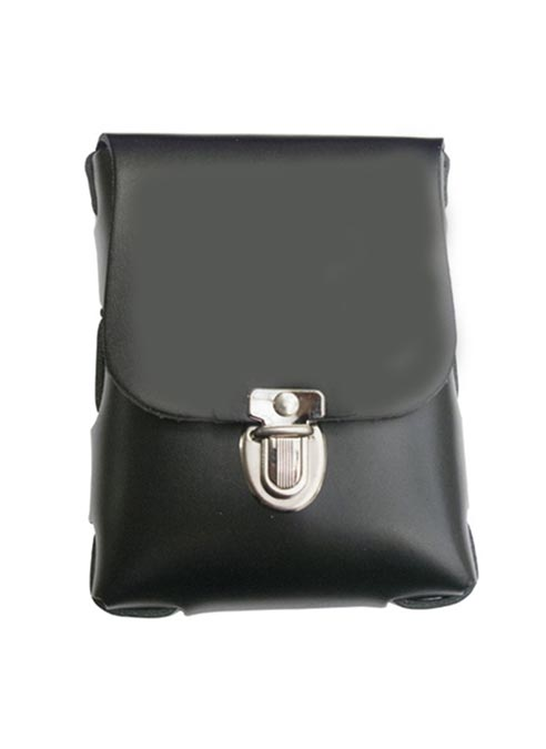 Black Label Small Leather Bag