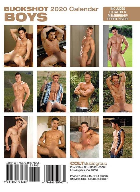 Calendar 2020 Colt Buckshot Boys