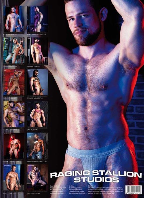 Calendar 2020 The Men of Raging Stallion
