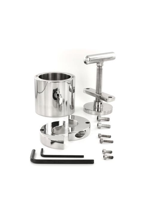Black Label The Ball Flask Crusher Stainless steel