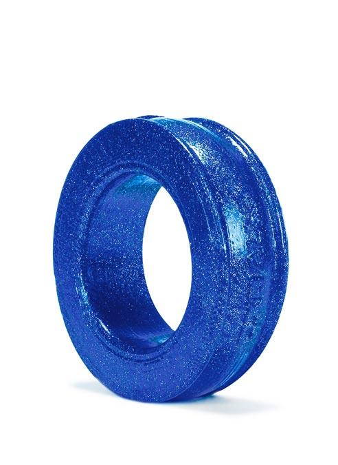 Oxballs Pig-Ring Cockring Silicone Blueballs Metallic Blue