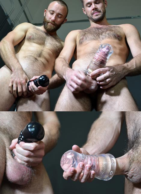 Oxballs Jerk Jack-Off Masturbator TPR Black