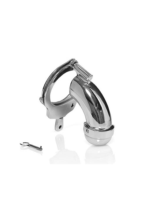 Black Label The Cuff Sealed Chastity Cage