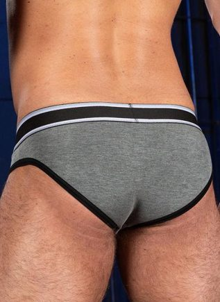 Mr. S Big Bulge Brief Grey Extra large