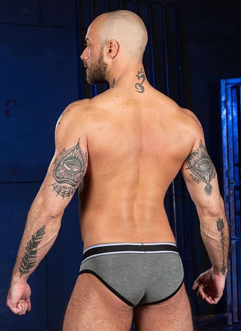 Mr. S Big Bulge Brief Grey Extra large