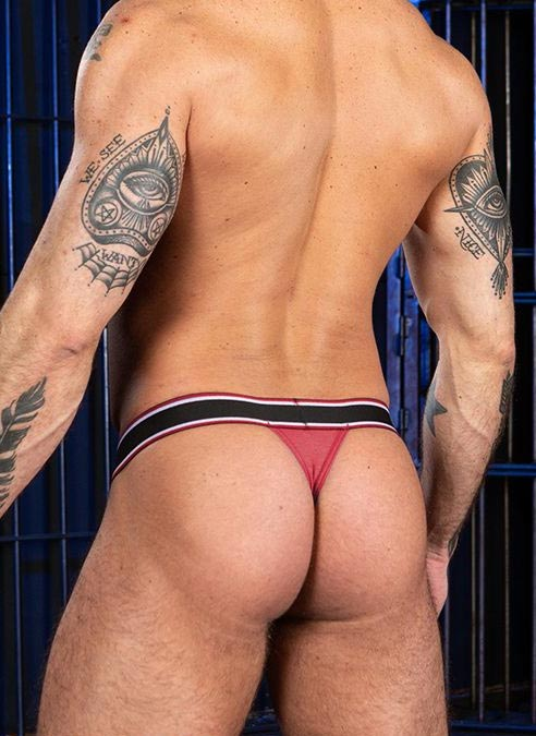 Mr. S Big Bulge Thong Red Extra large