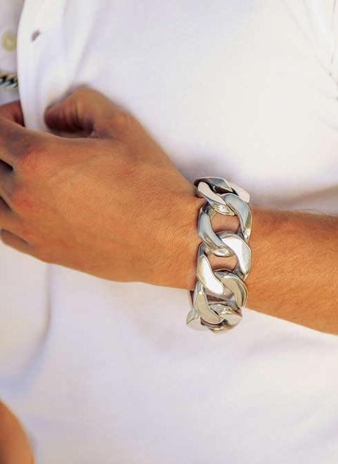 Bukovsky Bracelet Force XL Polished - 21 cm