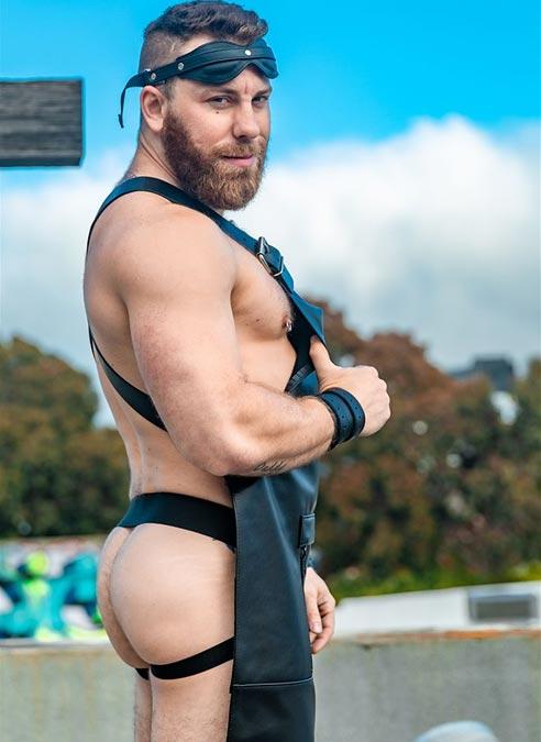 Mr. S Leather Sailor Front Apron