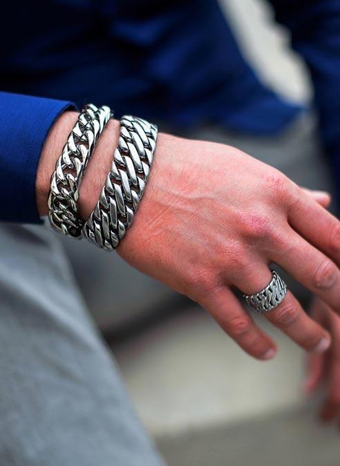 Bukovsky Bracelet Elegance Polished - 19 cm