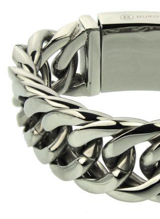 Bukovsky Bracelet Chase XL Polished - 22 cm