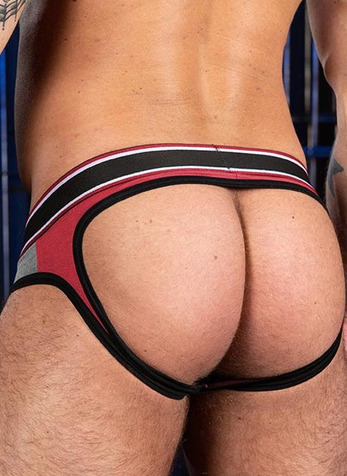 Mr. S Big Bulge Open Ass Brief Red Extra large