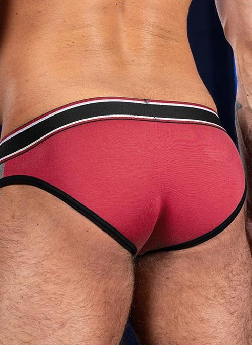 Mr. S Big Bulge Brief Red Extra large