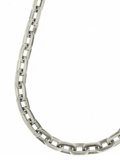 Bukovksy Chain Oval Deluxe Brushed - 60 x 1,2 x 0,2 cm