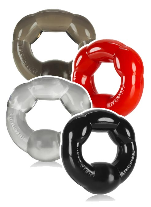 Oxballs Thruster Cockring TPR Black