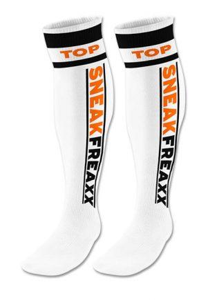 Sneakfreaxx Tube Socks Top Neon White One Size