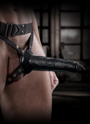 Command by Sir Richard's Strap-on Harness with Hollow Dildo