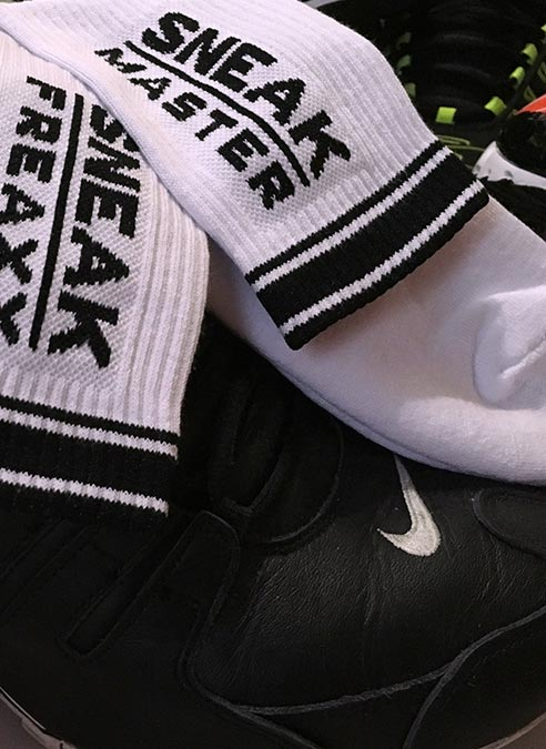 Sneakfreaxx Socks Sneak Master White One Size