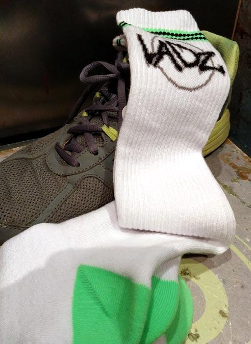 Sneakfreaxx Ladz Tube Socks White One Size