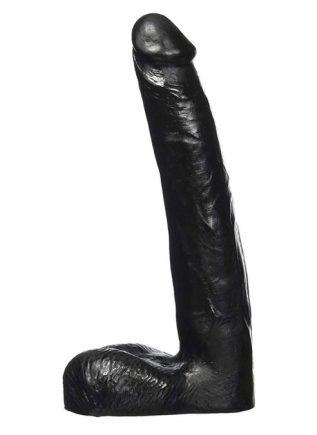 All Black Heinrich Dildo 200 x 35 mm