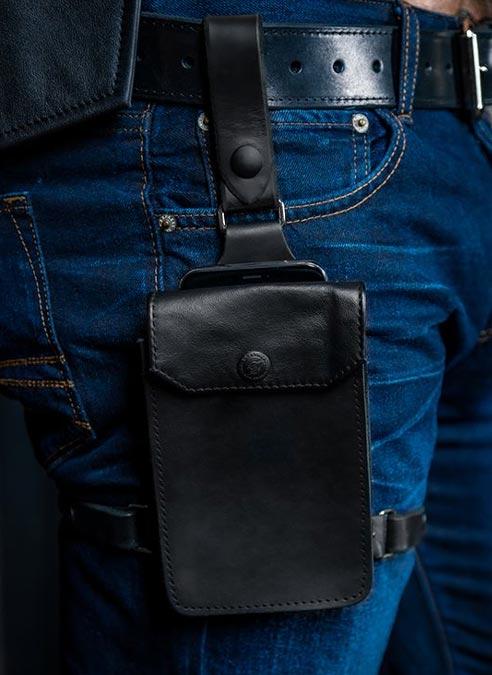 Mr. S Leather Jockstrap Holster Harness Black