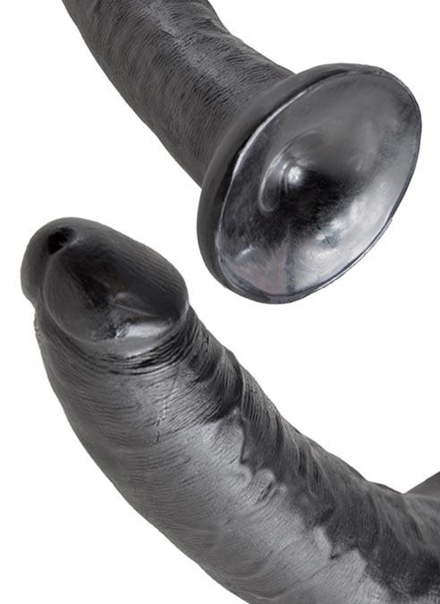 Pipedream King Cock Dildo Black 5 inch