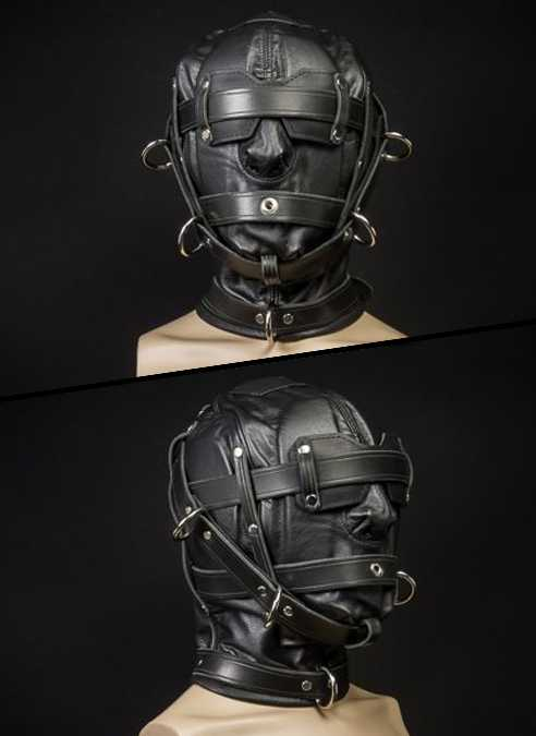 Mr. S Leather Heavy Duty Hood with Triple Straps