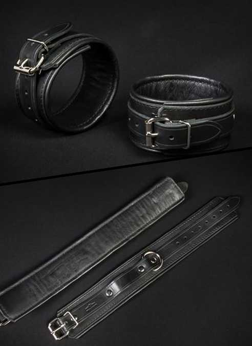 Mr. S Leather Essential Ankle Restraints