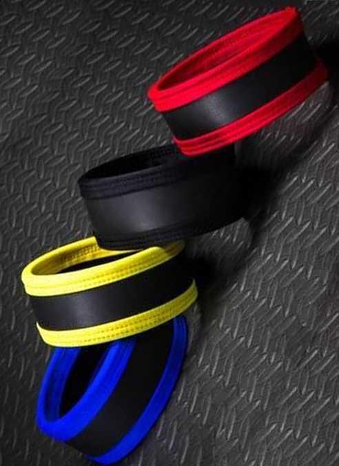Mr. S Neoprene Bicep Strap 2.0 Black Medium