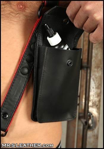 Mr. S Leather Hunter Harness Side Holster Black Large