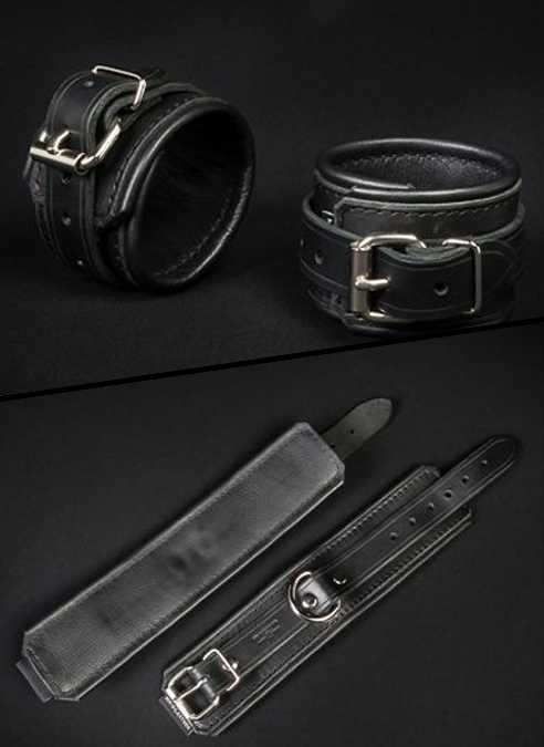 Mr. S Leather Essential Wrist Restraints