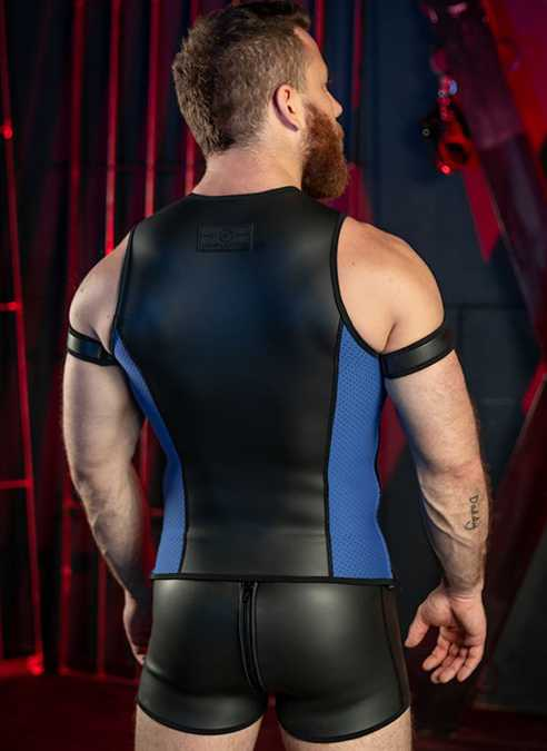 Mr. S Neo Muscle Tank Blue Small
