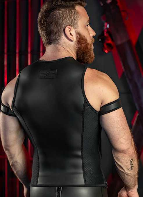 Mr. S Neo Muscle Tank Black Extra large
