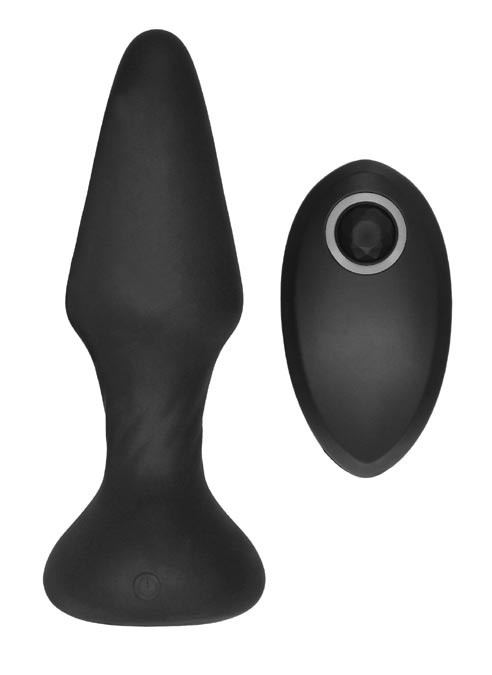 SONO Silicone No. 81 Self Penetrating Butt Plug with Remote