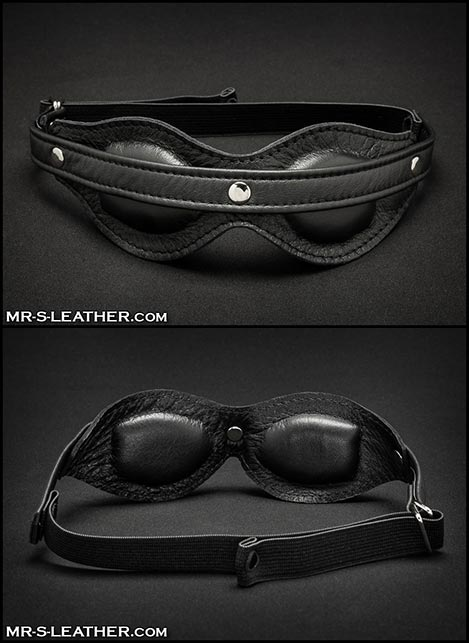 Mr. S Leather Fetters Padded Blindfold
