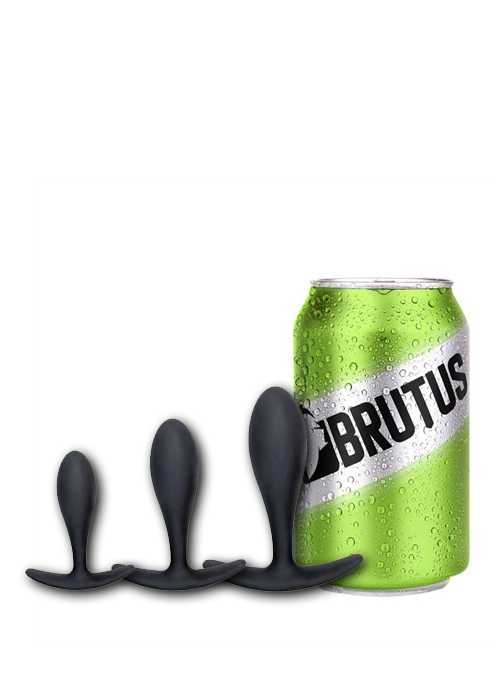 Brutus All Day Long Silicone Buttplug Large