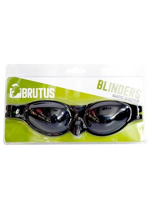 Brutus Blinders Silicone Blindfold Black