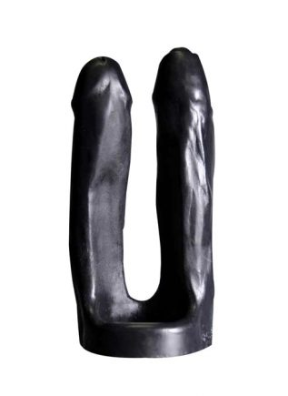 Oxballs 3-Way Triple Penetrator Silicone Black