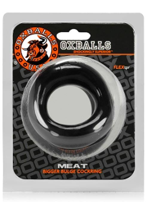 Oxballs Meat Bigger Bulge Cockring TPR Clear